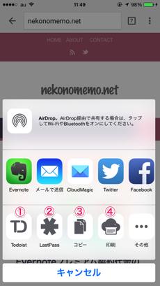 iPhoneでTodoistとGoogle Chromeを連携する方法